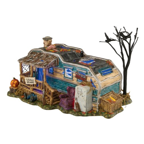 Department 56 Snow Village Halloween Lot 13 Crystal Lake Accessory -
