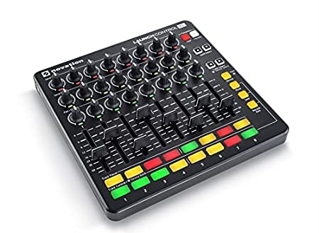 Novation Launch Control Portable USB Midi Contoller with 16 Assignable Knobs and Eight Pads American Music and Sound NOVLPD04