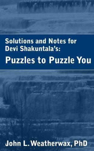 Shakuntala Devi Puzzles Ebook