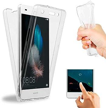 OcioDual Funda de Silicona TPU 360 para Huawei P8 Lite ALE-L21 ...