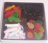 Scott's Cakes Large 4-Pack Pectin Fruit Gels, Swedish Fish & Black Licorice Bears & Salt Water Taffy
