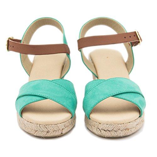 MARÍA BARCELÓ Women's Fashion Sandals TURQUESA Hk6gFm1DnM