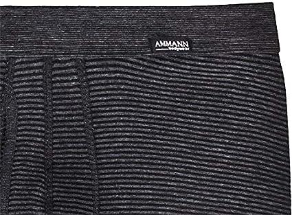 Unterhose Ammann Herren Hose 3//4-lang m.Eingriff Jeans anthrazit