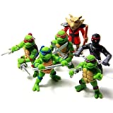 Teenage Mutant Ninja Turtles Tmnt Action Figures Toy New Classic Collection Mini