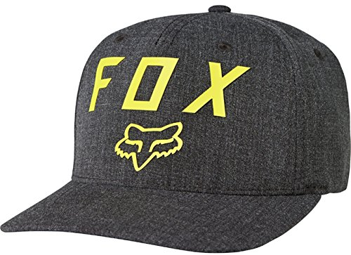 Fox Men's Number 2 Flexfit, Black, L/XL (Helmet Skate Cap)