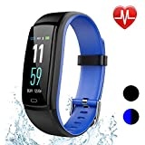 Fitness Tracker Watch, Activity Tracker Smart Watch Heart Rate Blood Pressure Monitor Watch