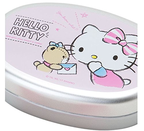 Sanrio Hello Kitty aluminum lunch case M talk From Japan New by SANRIO
