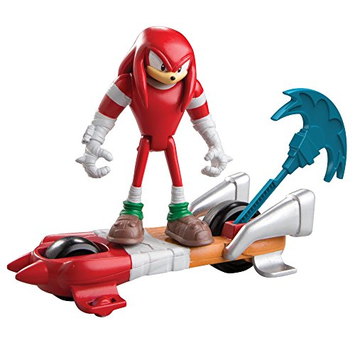 Sonic Boom Knuckles Action Figure with Ripcord Board ()