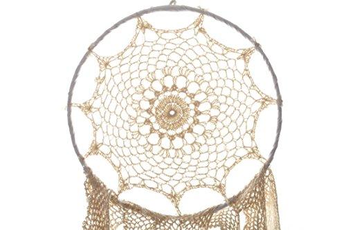Koyal Wholesale DIY Dream Catcher - White Handmade Crochet Hanging Dream Catcher DIY Boho Décor (12, Ivory)