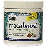 Gaia Herbs Maca Boost Supplement, Vanilla Chai, 8-Ounce