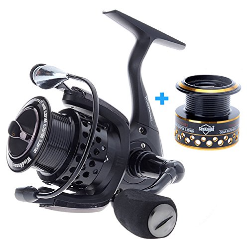 Skysper Spinning Reels 10 1BB 6.2 1 Gear Ratio Left Right Interchangeable Light Weight Ultra Smooth Powerful Fishing Spinning Reels with Spare Spool