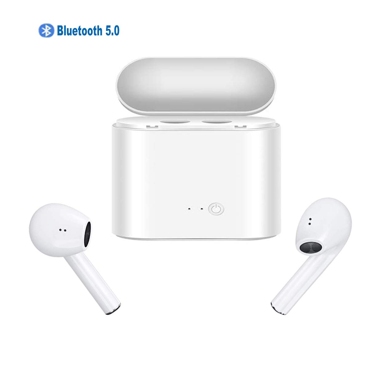 Wireless Headphones, Bluetooth5.0 Waterproof Bluetooth Headphones Sports Earphones for Running