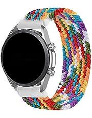 Pulseira 22mm Trançada Infinito compatível com Samsung Galaxy Watch 3 45mm - Galaxy Watch 46mm - Gear S3 Frontier - Gear S3 Classic - Marca LTIMPORTS