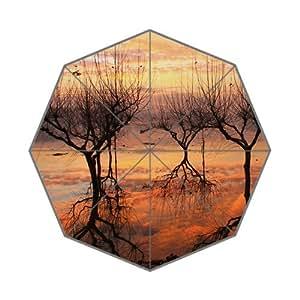 Reflexos Foldable Umbrella, Lightweight Travel Umbrella
