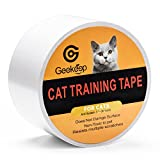 G GEEKEEP Pet Cat Scratch Prevention Tape, Door,Furniture,Couch and Leather Scratch Guard Protector Tape For Cats and Pets, 3 Inches x 30 Yards