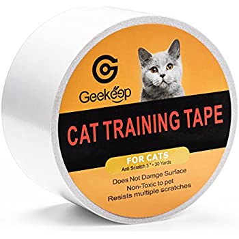 Amazon Com G Geekeep Pet Cat Scratch Prevention Tape Door Furniture Couch And Leather Scratch Guard Protector Tape For Cats And Pets 3