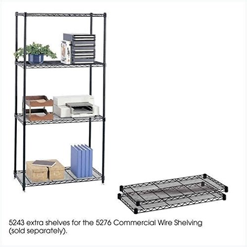 Safco Model - Safco Products 5243BL Commercial Wire Shelving Extra Shelves 36