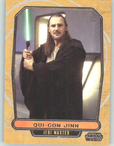 2012 Star Wars Galactic Files #2 Qui-Gon Jinn (Non-Sport Collectible Trading Cards)