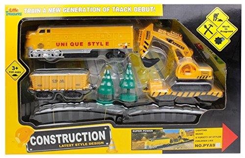 Little Treasures Construction Train Play Set PYA9
