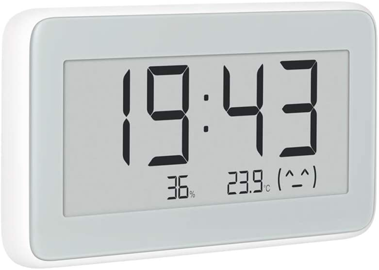 Para Mijia Electronic Temperature and Humidity Pro, para Mijia Bluetooth Termómetro Pro, Wireless Smart Electric Reloj Digital Termómetro para temperatura interior higrómetro