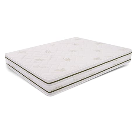 MiaSuite Top H25 160X190 Memory, Aloe Vera, Bianco, 160 x 190 cm