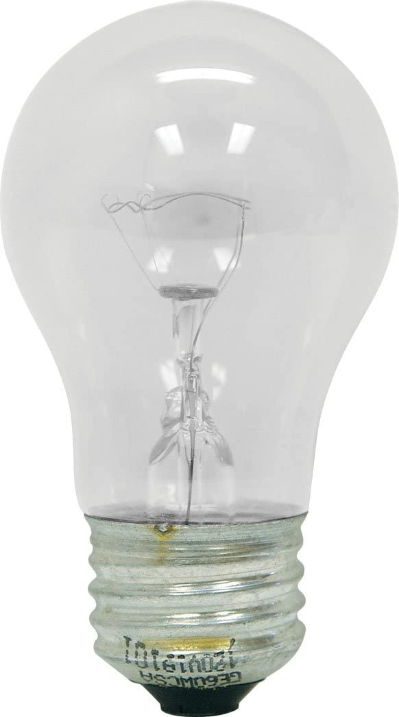 GE Lighting 76579 Appliance 40-Watt, 415-Lumen A15 Light Bulb with medium Base, 4-Pack