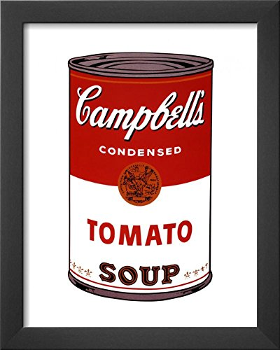 Campbell's Soup I, 1968 Framed Art Print by Andy Warhol 13 x (Andy Warhol Home Revolution)