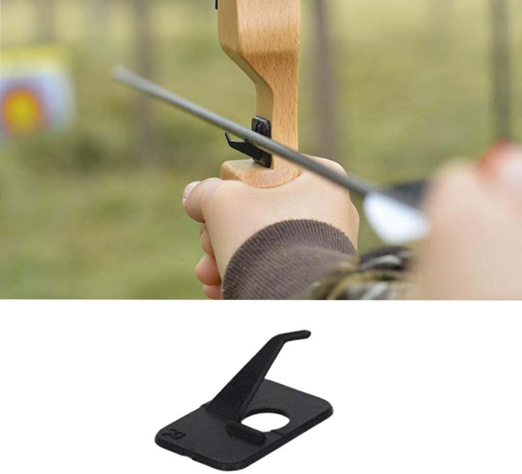 EBOCACB 10pcs Black Plastic Arrow Rest Archery RH Recurve Bow Arrow Rest Hunting Shooting Targeting Accessory Right Hand : Sports & Outdoors