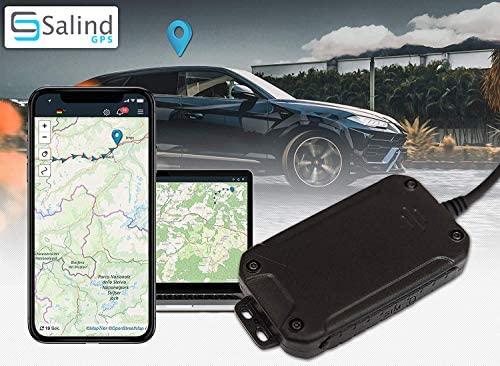 Salind Rastreador GPS para Coche, Moto y vehículos con ...