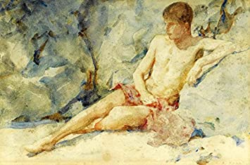 pictures nude Young boy art