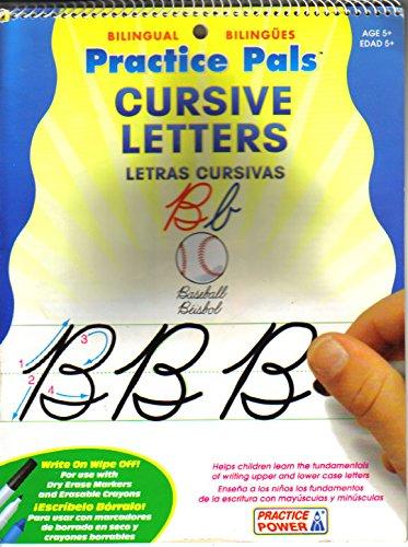 (Practice Pals Cursive Letters / Letras Cursivas: Bilingual / Bilingües)