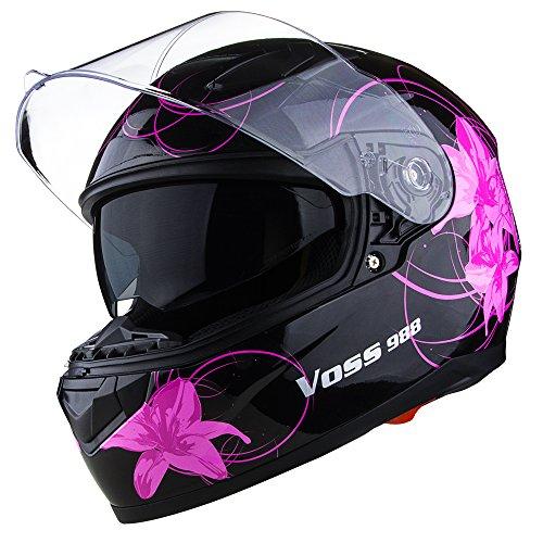 Flower Motorcycle Helmet - 6