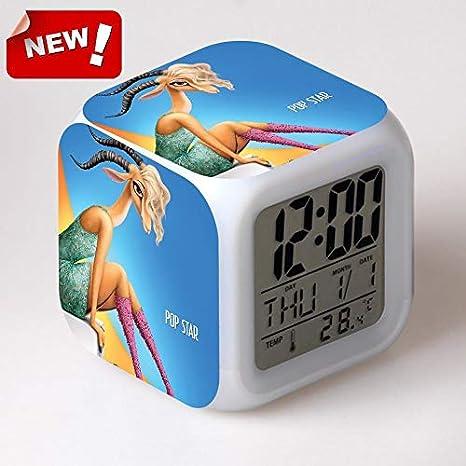 Amazon.com: HOKUGA: Clock Zootopia Electronic Desk Digital 7 ...