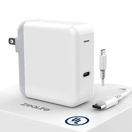 Zealife 30W USB-C Power Adapter, USB Type C Wall Charger with PD Fast  Charging for Mac Compatible with Thunderbolt 3 Charger Port MacBook,  MacBook