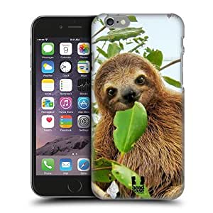 Head Case Designs Three Toed Sloth Famous Animals Protective Snap-on Hard Back Case Cover for Apple iPhone 6 4.7 by runtopwell