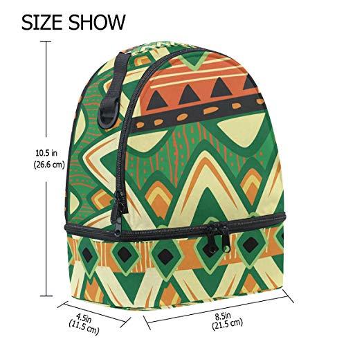 escuela aislamiento con de almuerzo étnico bohemio impresión con Bolso de de para el pincnic hombro vintage ajustable geométrica con FOLPPLY de correa la para 75xwOqwz1