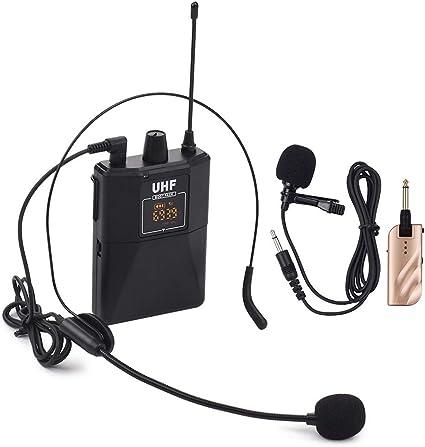 Microdot Pro 6016 Microfono Lavalier da bavero professionale per trasmettitori wireless Sennheiser Condenser Mic e uni direzionale.