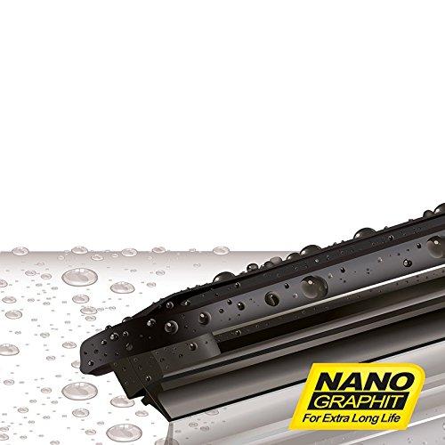 HEYNER HSF2419MULTI - Escobillas para limpiaparabrisas de alta calidad, 61 cm y 48 cm: Amazon.es: Coche y moto