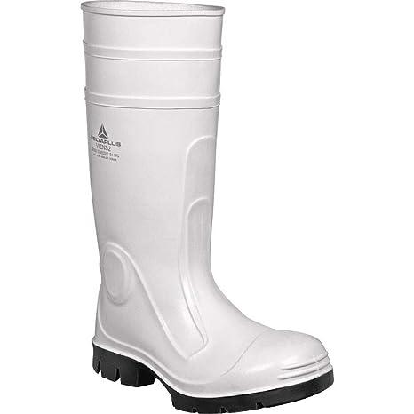 479693b627fb Panoply Mens Delta Plus Viens2 White Pvc Safety Galoshes Wellington ...