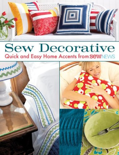 Sew Decorative: Quick and Easy Home Accents from Sew - Premium In Outlet Seattle