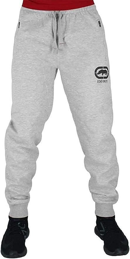 Ecko Hombre Algodón de Diseño Pantalones Joggers, Negro, Azul ...