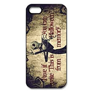 iPhone 4 / iPhone 4s TPU Gel Skin / Cover, Cartoon TPU iPhone 4g Back Case - The Nightmare Before Christmas
