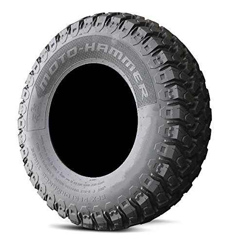 4x156 Bolt Pattern 3//8x24 Lug Kit 9 Items Bundle MSA Black Kore 14 ATV Wheels 27 MotoHammer Tires