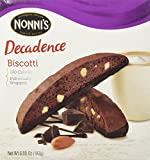 Nonni's, Biscotti, Chocolate Decadence, 8 Count, Individually Wrapped, 6.88oz Box (Pack of 2)