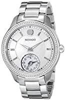 Movado Women's 0660006 Analog Display Swiss Quartz Silver Sm