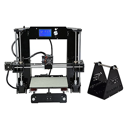 Generic ANET A6 DIY 3D Printer Kit - Metal + Acrylic Frame, Multiple Filaments, 100MM Per Second Print Speed, Windos Mac + Linux Support