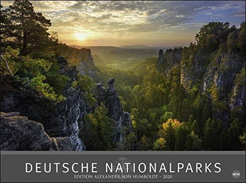 Deutsche Nationalparks - Edition Alexander von Humboldt - Kalender 2020 - Heye-Verlag - Fotokalender - Wandkalender 78 cm x 58 cm
