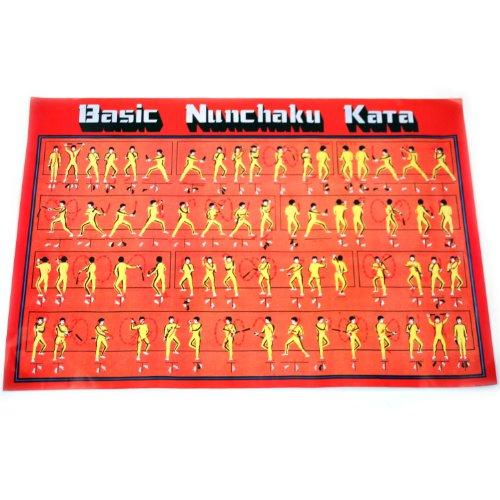 Basic Nunchaku Kata Poster -