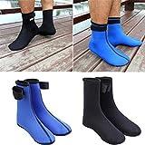 Diving Socks Keep Warm Anti-Slip Sunblock Anti-Scratch Durable Nylon - Diving Scuba Surfing Swimming Socks - Water Sports Snorkeling Boots