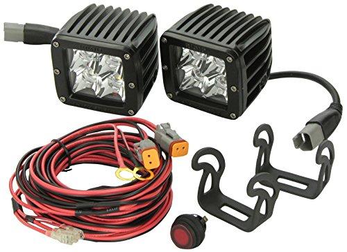 Rigid Industries 20222 Dually Amber Spotlight, (Set of 2)